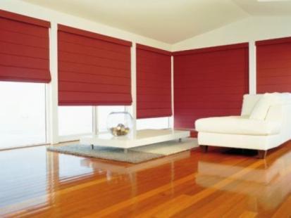 Blockout Roman Blind - Home Blinds Australia