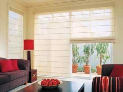 Sunscreen Roman Blind - Home Blinds Australia