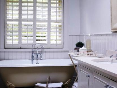 Plantation Shutters Bathroom