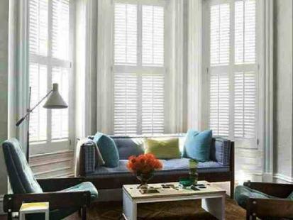 Plantation Shutters Modern Loungeroom