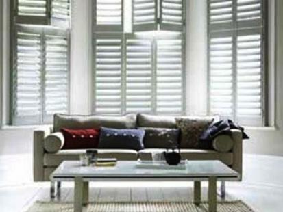 Plantation Shutters Modern Loungeroom