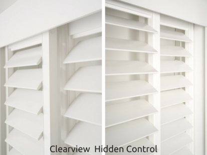 Australian Made PVC Plantation Shutters Online Clearview